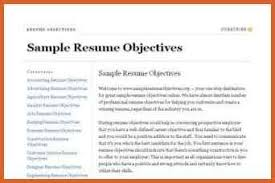 Objective Statement For Resumes Mission Statement Resume Resume Name 37