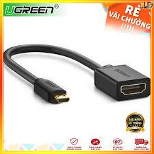 Từ 308,879đ mua ngay Cáp chuyển đổi Micro HDMI to VGA Ugreen 40268 - Hàng  chính hãng cao cấp, bảo hành 18