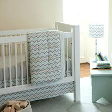 giveaway crib bedding set from carousel designs blue and grey baby chevron