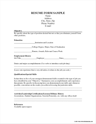 Resume Application Form Free Download Resume Resume Examples