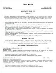 Business System Analyst Resume Sample – Kappalab