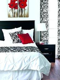 Red And Black Bedroom Ideas Black And Grey Bedroom Red Black And ...