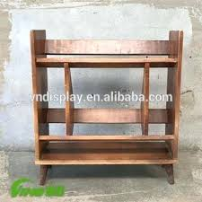 countertop dividers wooden bookcase storage s book rack holders countertop privacy dividers countertop glass dividers