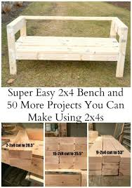 wood project plans outdoor. easiest 2x4 bench plans ever. simple woodworking projectsdiy wood project outdoor c