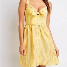 Charlotte Russe Striped Sundress Nwt