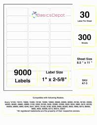 Avery 30 Label Template Avery 8660 Template Word Loveandrespect Us