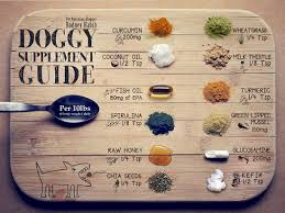 Fish Oil Dosage Chart Dog Doggy Supplement Chart Planet Paws