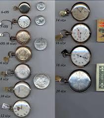 Watch Size Chart Pm Time Service Vintage Pocket Wrist Watches Pocket