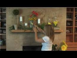 home decorating how to decorate a fireplace mantle for spring