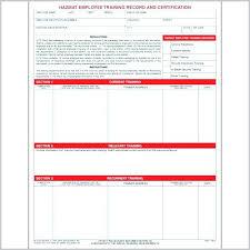 Training Record Sheet Template Free Employee Training Record Template Staff Excel Bettylin Co