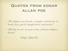 Dream Within A Dream Quote Best of Edgar Allan Poe