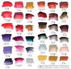 Atelier Acrylic Colour Chart Atelier Interactive Acrylic Paint