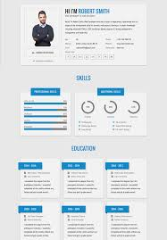81 Bootstrap Resumes Flatfy Responsive Resume Css Format Download