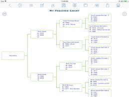 My Pedigree Chart Pedigree Chart Maker