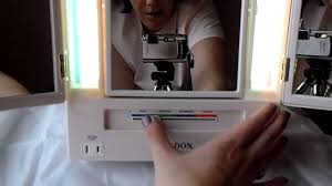 Jerdon Deluxe Lighted Makeup Mirror Makeup Mirror Review