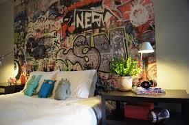 typical teenage student bedroom