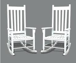 new recycled white plastic outdoor rocking chair for regarding resin chairs decor
