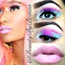nicki minaj inspired makeup ig beautybybrinaa