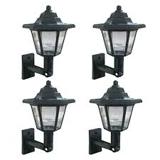 solar powered outdoor wall lights design mounted sconces lighting out