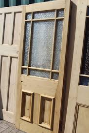 image of victorian starburst internal door with opaque glass