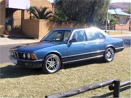 All BMW Models 1983 bmw 733i : The South African BMW E23 M745i