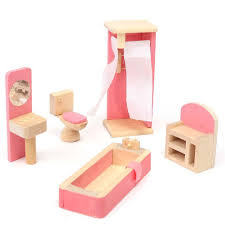 where to buy miniature furniture. wooden dolls house furniture miniature bathroom for kids childrentoy gift hotchina where to buy