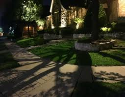 moonlighting is the effect that is achieved when an outdoor light fixture is mounted high