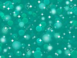 Abstract Bluish Green Background Glitter Lights Stock Photo Picture