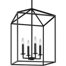 sea gull lighting perryton blacksmith 125 inch four light lantern pendant boconcept lighting