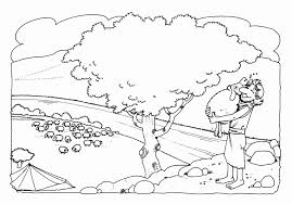Small Picture Coloring Pages For Preschoolers Parable Of Lost Sheep Coloring Home
