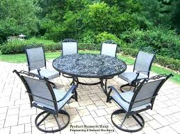 patio dining set for 6 dining patio set ideas dining patio sets for adorable round patio