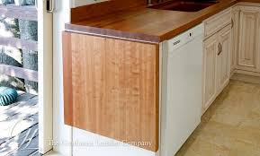 american cherry wood countertop in oakland california