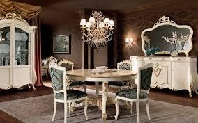 classic dining table wooden round 100 recyclable villa venezia 11117