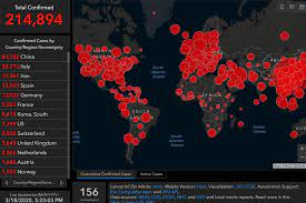Johns Hopkins offers a real-time window on the global pandemic