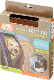 animal planet water resistant bench style car seat cover beige roll over image to zoom in