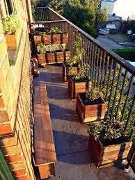 Kitchen Garden In Balcony Urban Growth My First Garden Balcony Installation