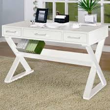 white wood office desk. Interesting Office Trendy Modern Design Unique Home Office Desk Comes With Rectangle Shape White  Wooden And Line Storage Drawers On Wood