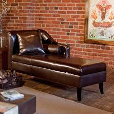 leather chaise lounge with storage buy chaise lounge leather