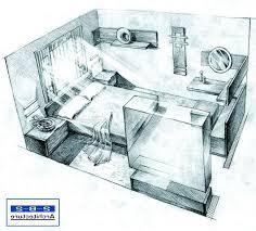 Room Design Sketch Interior Design Bedroom Sketches Modern Design On Home  Designer 3d House Design Sketch . Room Design Sketch Drawing Interior ...