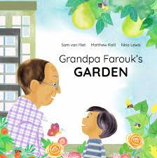 grandpa s garden picture book cover