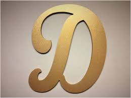 giant monogram letters impressive large letter wall decor wooden cut out letter d gold other 1500