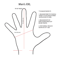 how to measure hand size for gloves sizing