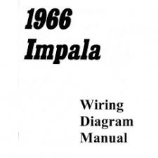 wiring diagrams impalas com 1966 impala chevrolet passenger car wiring diagram manual