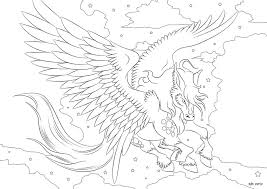 Small Picture Pegasus Coloring in Page 4 by darkly shaded shadow on DeviantArt