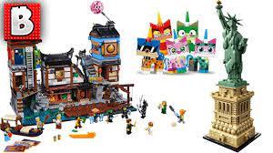 LEGO Ninjago City Docks, Unikitty Colletible Figs, Amazing Statue of  Liberty