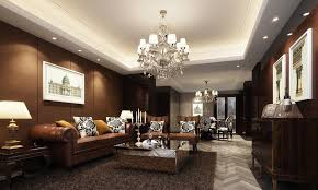 Brown Wall Living Room Ideas Of White Ceiling And Brown Walls European Style