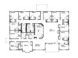 large ranch style house plans black forest luxury home plan more building