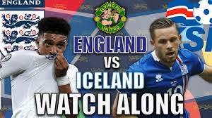 England VS Iceland LIVE