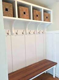 Mudroom Bench With Coat Rack Stylish Entryway Storage Bench Be Equipped Mudroom Bench Be Equipped 43