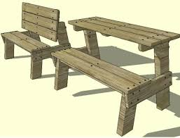children folding picnic table plans